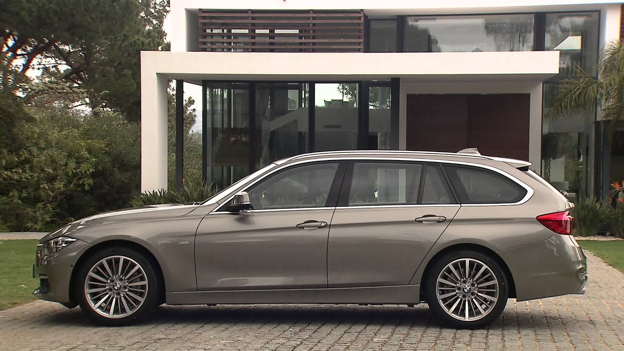exterior bmw 3 series touring f31 lci facelift youtube. Black Bedroom Furniture Sets. Home Design Ideas