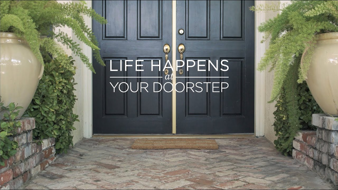 #atyourdoorstep Check #taketheleap & Life Happens at Your Doorstep - YouTube