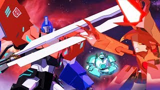 Мультфильм Трансформеры: роботы под прикрытием 1/13. Как в тумане