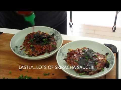 Oknomiyaki Gluten Free and Vegan
