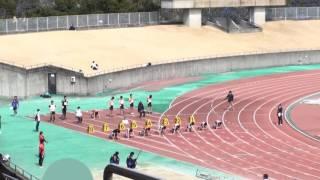 2017静大春季サーキット 男子100m 37組~41組