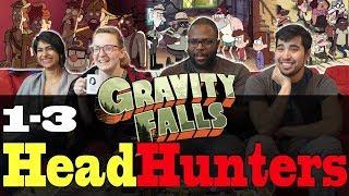 Gravity Falls - 1x3 Headhunters - Group Reaction