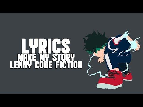Boku No Hero Academia Season 3 OP 2- Make My Story (Lyrics/Eng Trans)