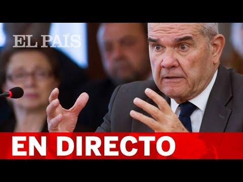 Directo   CHAVES, ante la comisión del Senado sobre la financiación de los partidos