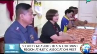 NewsLife: Security measures ready for Davao region athletic association meet    Feb. 25, 2015