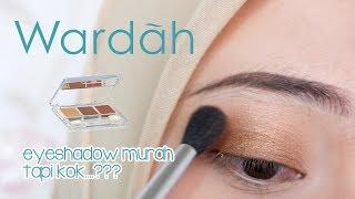 REVIEW WARDAH NUDE COLOURS EYESHADOW CLASSIC | #makeupbynia #11