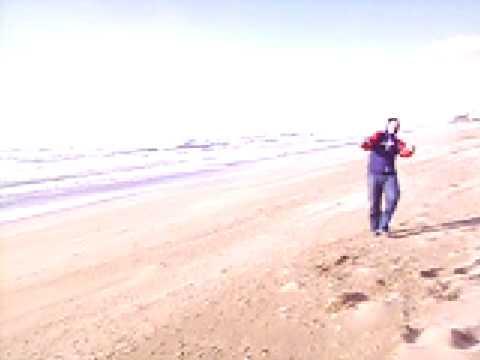 Temporal de viento en gav playa 24 01 09 youtube - Cometas de arrastre ...