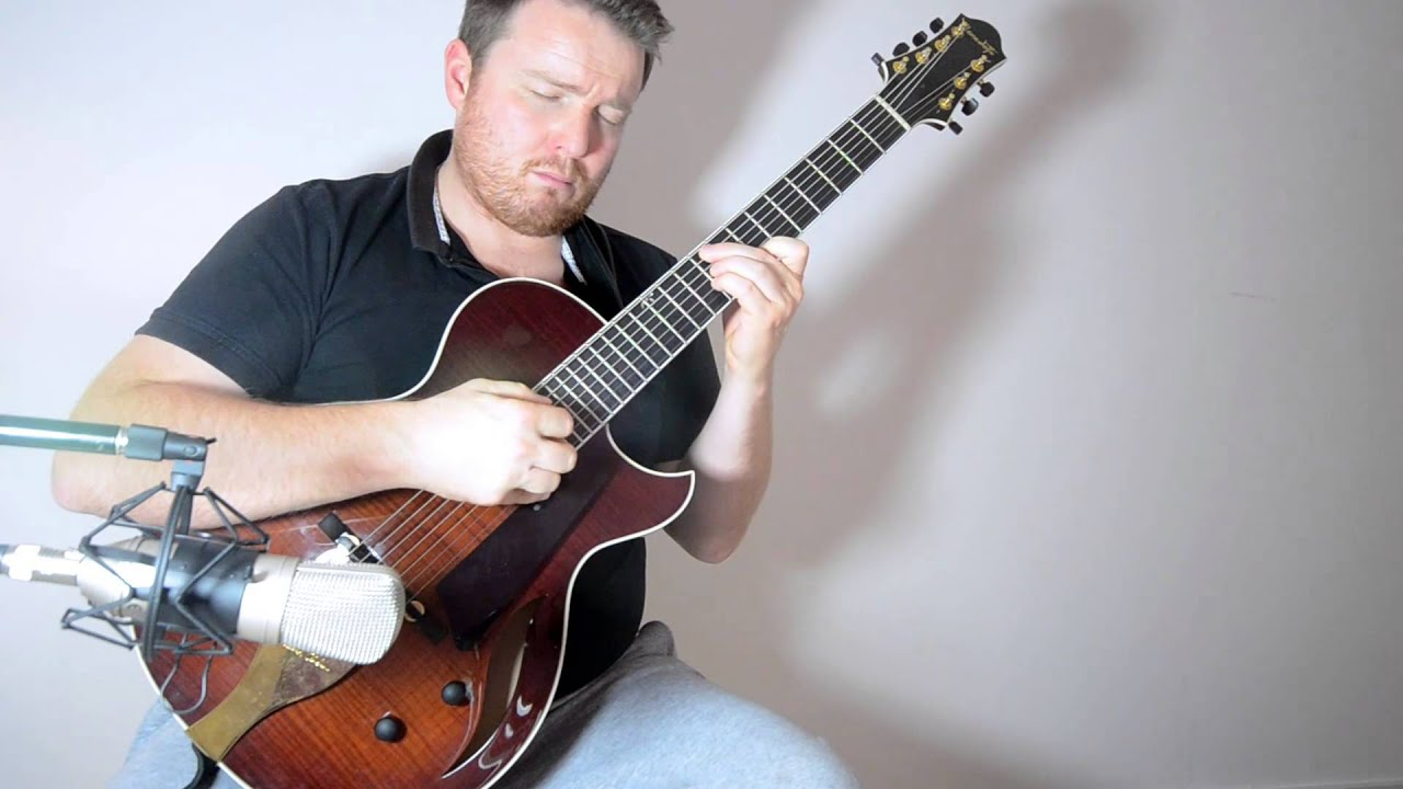 emily solo 7 string jazz guitar youtube. Black Bedroom Furniture Sets. Home Design Ideas