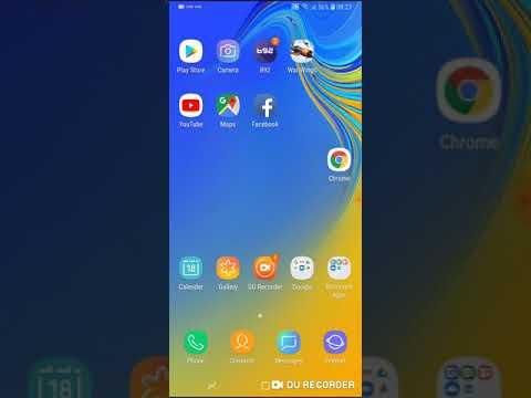 Samsung Galaxy A7 2018 Multi Window