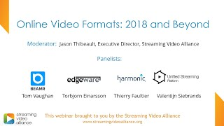 Online Video Formats: 2018 and Beyond