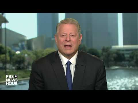 Former Vice President Al Gore: Trump's approach to climate change 'literally insane'
