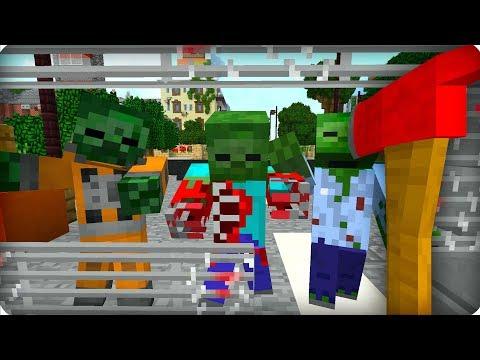Вот это я влип! [ЧАСТЬ 34] Зомби апокалипсис в майнкрафт! - (Minecraft - Сериал)