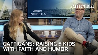 Jim and Jeannie Gaffigan on raising five children with faith and humor