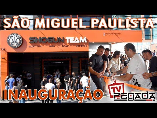 Inauguração da Shogun Team em São Miguel Pta.