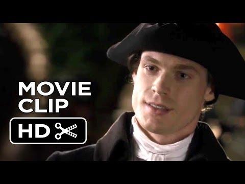 Belle Movie   Belle Talks With Mr. Davinier 2014  Sam Reid Movie HD