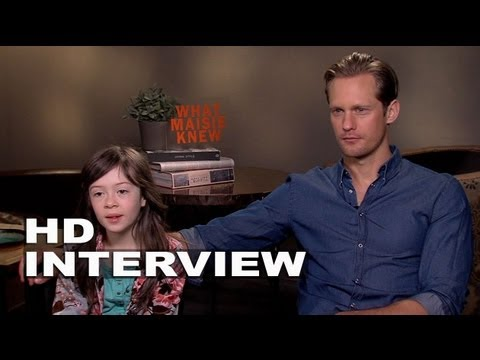 What Maisie Knew: Alexander Skarsgard and Onata Aprile Official Interview