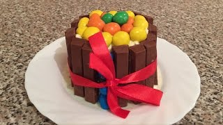 Kitkat And M&m Cake (no Bake)! - By Bluepearl