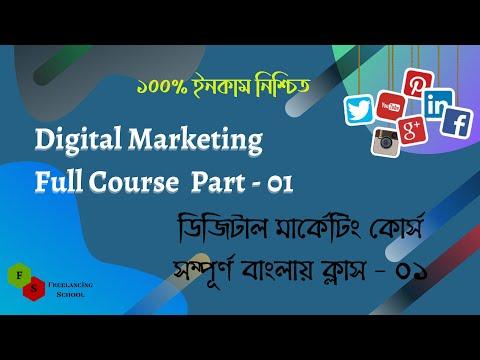 Digital Marketing Full Course Part - 01 || Digital Marketing Bangla Tutorial For Beginner 2021