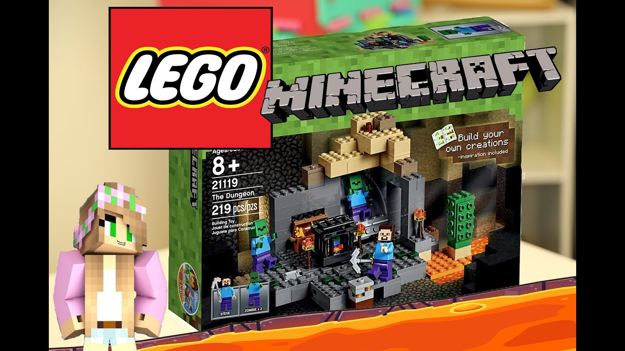 Lego Minecraft The Dungeon Part 2 Youtube