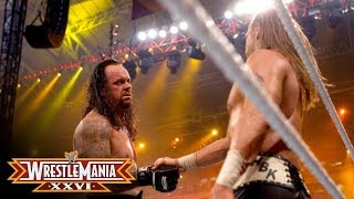 The Undertaker shows respect to Shawn Michaels after the Career vs. Streak Match: WrestleMania XXVI thumbnail