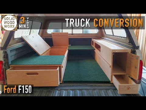 The perfect camping setup for the back of your truck!