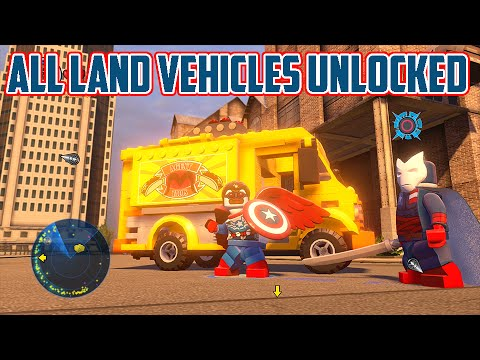 LEGO Marvel's Avengers - A Look at All of the Land ...