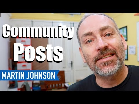 COOL NEW YOUTUBE FEATURE: Community Posts!!