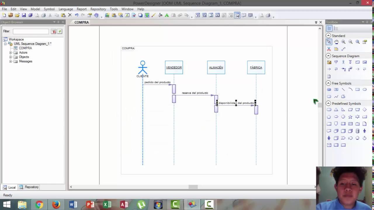 222s power designer modelo uml sequence diagram youtube 222s power designer modelo uml sequence diagram ccuart Gallery