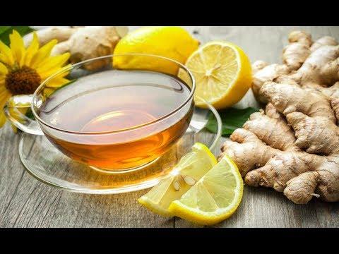 tè verde allo zenzero e limone per perdere peso