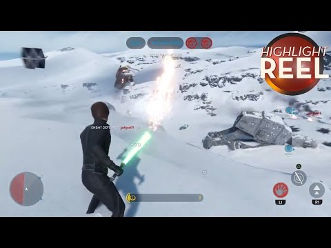 Highlight Reel #161 - Luke Throws Stormtrooper Into TIE Fighter