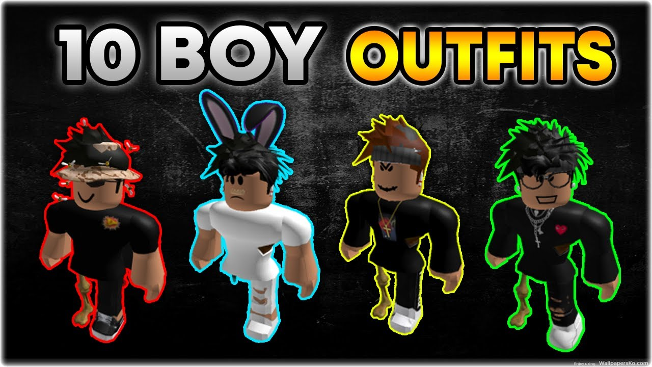 Oder Roblox Avatars 2020 Top 10 Best Roblox Boy Outfits Of 2020 Oder Outfits Youtube