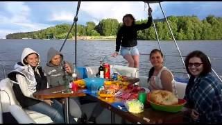 День Рождения на яхте Легрина. Июль 2015.