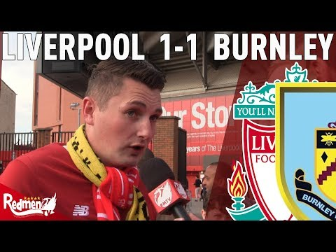 'Defensively, We Are A Sh*t Show!' | Liverpool 1-1 Burnley | #LFC Fan Cam