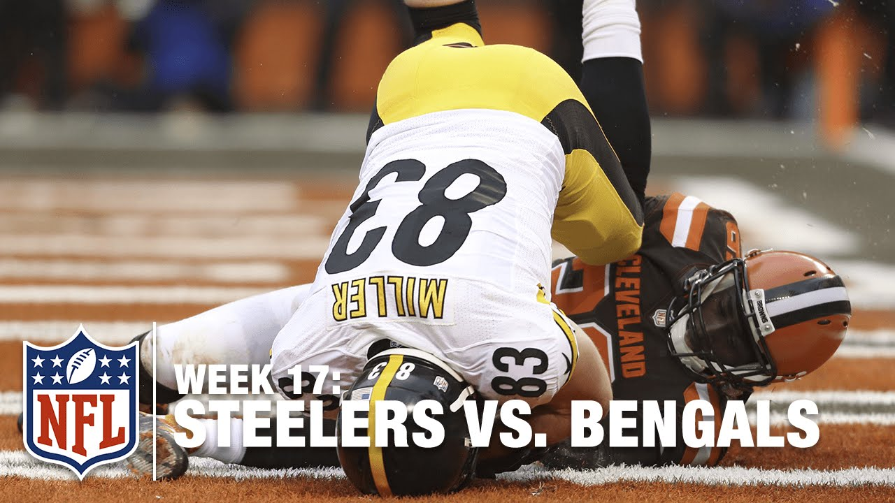 Ben Roethlisberger Tosses Nice TD Pass to Heath Miller | Steelers vs. Browns | NFL