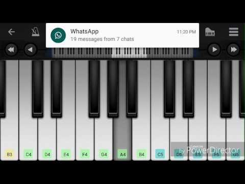 manogari song from baahubali piano cover