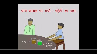 Friendship over Tea - A Puzzle | Hindi | Answer