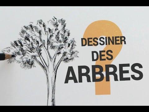 Dessiner des arbres le plus simplement possible youtube - Arbres dessins ...