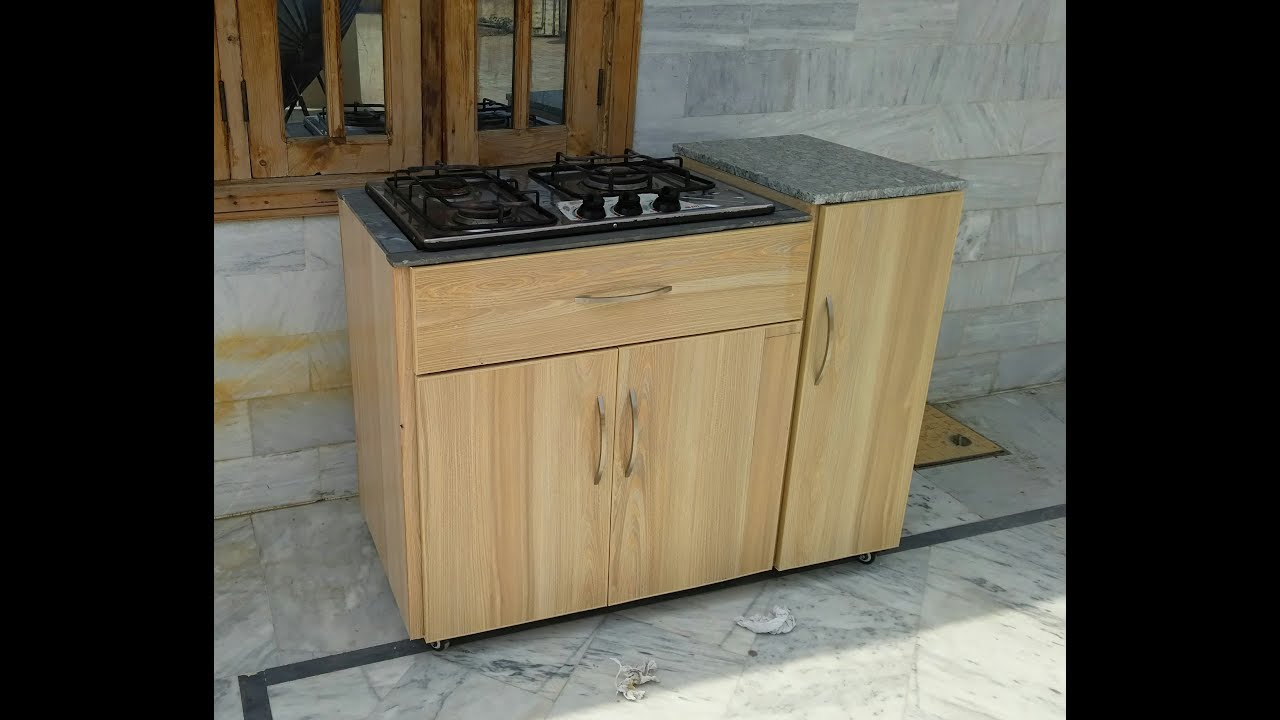 Wooden Stove Cabinet Youtube