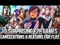 10 Surprising Free to Play Online Games Cancelations & The Reasons Behind It Vol. 2