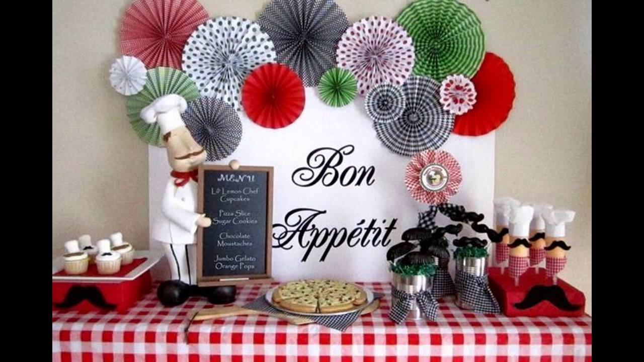 Italian Themed Decorating Ideas For A Party