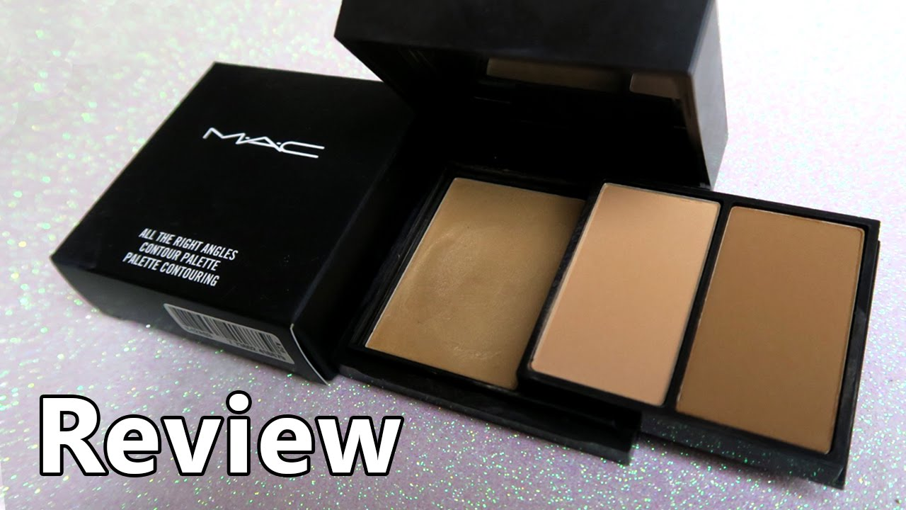 mac contour kit all the right places review swatches youtube