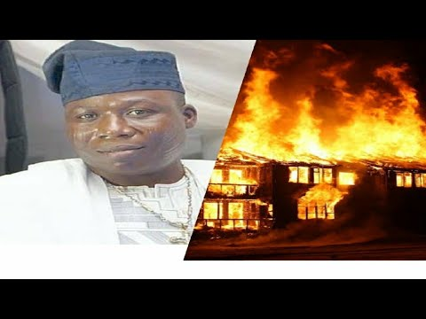 Bizarre!!! Full video of Sunday Igboho Burnt house and fight between Fulani and Yoruba in Oyo State