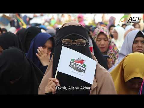 Rewind Tablig Akbar dan Pelepasan Kapal Kemanusiaan Suriah, di Aceh.