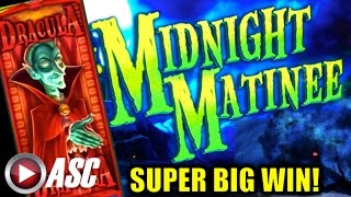 *SUPER BIG WIN* MIDNIGHT MATINEE | Multimedia - MAX BET LOCKING WILDS! Slot Machine Bonus