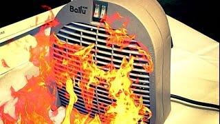 Обзор на Тепловентилятор Ballu BFH/S-04 Unbox