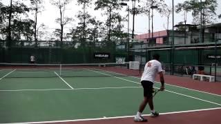 yuki takaoka college tennis video