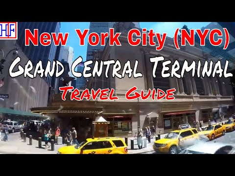 New York City (NYC) | Grand Central Terminal | Tourist Attractions | Episode# 14
