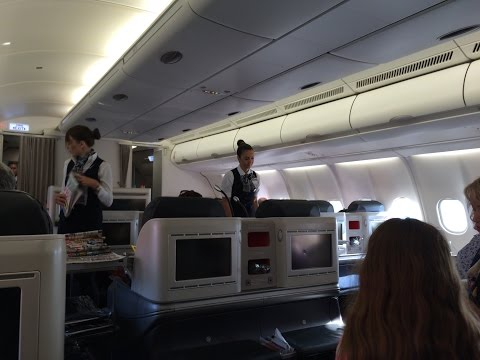 Turkish Airlines Airbus A330-300 Business Class Review