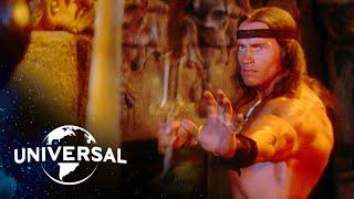 Conan the Destroyer   Arnold Schwarzenegger Battles His Way Out of a Crypt