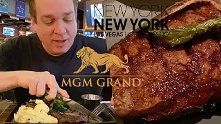BEST Las Vegas Steak! Gallagher's New York Strip vs. TAP